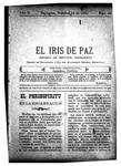 EL IRIS DE PAZ 18 de octubre de 1902