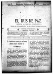 EL IRIS DE PAZ 29 de noviembre de 1902