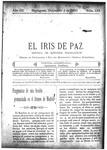 EL IRIS DE PAZ 5 de diciembre de 1903