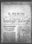 EL IRIS DE PAZ 6 de junio de 1903