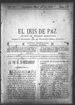 EL IRIS DE PAZ 23 de mayo de 1903