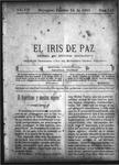EL IRIS DE PAZ 14 de febrero de 1903