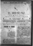 EL IRIS DE PAZ 24 de enero de 1903