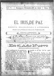 EL IRIS DE PAZ 31 de diciembre de 1904