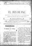 EL IRIS DE PAZ 24 de diciembre de 1904