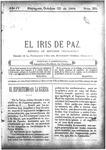 EL IRIS DE PAZ 22 de octubre de 1904