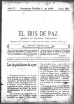 EL IRIS DE PAZ 1 de octubre de 1904
