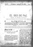 EL IRIS DE PAZ 27 de agosto de 1904