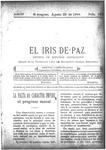 EL IRIS DE PAZ 20 de agosto de 1904