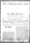 EL IRIS DE PAZ 6 de agosto de 1904