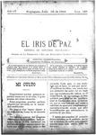 EL IRIS DE PAZ 30 de julio de 1904
