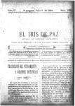 EL IRIS DE PAZ 9 de julio de 1904