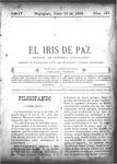 EL IRIS DE PAZ 18 de junio de 1904