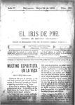 EL IRIS DE PAZ 28 de mayo de 1904