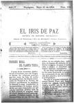 EL IRIS DE PAZ 21 de mayo de 1904