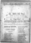 EL IRIS DE PAZ 20 de febrero de 1904
