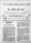 EL IRIS DE PAZ 9 de diciembre de 1905
