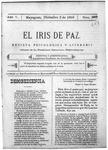 EL IRIS DE PAZ 2 de diciembre de 1905