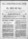 EL IRIS DE PAZ 18 de noviembre de 1905