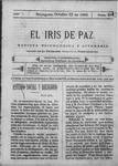 EL IRIS DE PAZ 21 de octubre de 1905