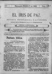 EL IRIS DE PAZ 7 de octubre de 1905