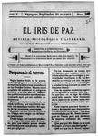 EL IRIS DE PAZ 30 de septiembre de 1905