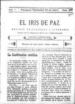 EL IRIS DE PAZ 23 de septiembre de 1905