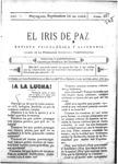 EL IRIS DE PAZ 16 de septiembre de 1905