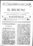 EL IRIS DE PAZ 9 de septiembre de 1905