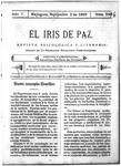 EL IRIS DE PAZ 2 de septiembre de 1905