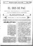 EL IRIS DE PAZ 26 de agosto de 1905