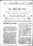 EL IRIS DE PAZ 19 de agosto de 1905