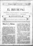 EL IRIS DE PAZ 12 de agosto de 1905