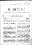 EL IRIS DE PAZ 5 de agosto de 1905