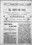 EL IRIS DE PAZ 15 de julio de 1905