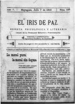 EL IRIS DE PAZ 7 de julio de 1905