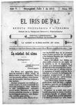 EL IRIS DE PAZ 1 de julio de 1905