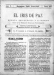 EL IRIS DE PAZ 24 de junio de 1905