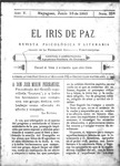 EL IRIS DE PAZ 10 de junio de 1905