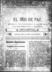 EL IRIS DE PAZ 3 de junio de 1905