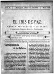 EL IRIS DE PAZ 27 de mayo de 1905