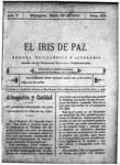 EL IRIS DE PAZ 20 de mayo de 1905