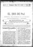 EL IRIS DE PAZ 13 de mayo de 1905