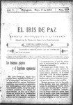 EL IRIS DE PAZ 6 de mayo de 1905