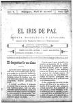 EL IRIS DE PAZ 29 de abril de 1905