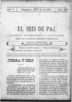 EL IRIS DE PAZ 15 de abril de 1905