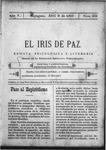 EL IRIS DE PAZ 8 de abril de 1905