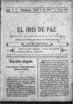 EL IRIS DE PAZ 1 de abril de 1905