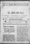 EL IRIS DE PAZ 25 de marzo de 1905