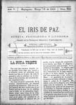 EL IRIS DE PAZ 18 de marzo de 1905